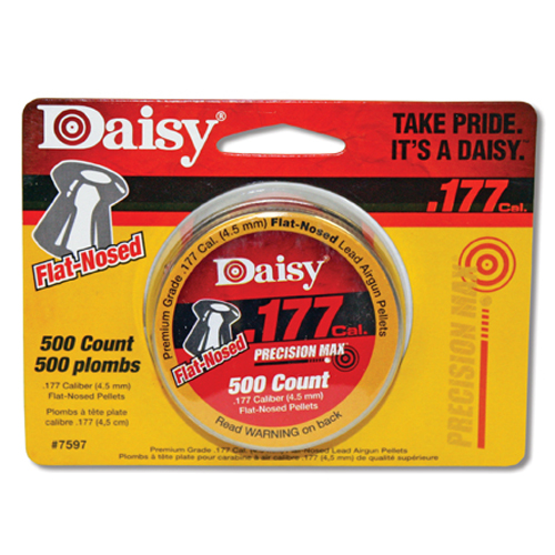 Daisy Flat-Nosed .177 Cal Pellets 500-Pack