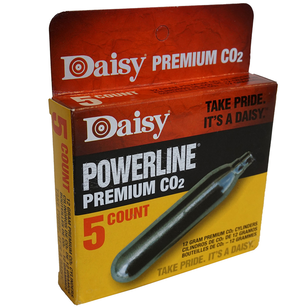 Premium CO2 Cylinder 5-Pack