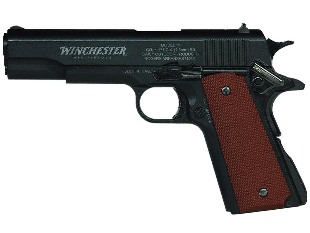 Daisy Winchester Model 11 CO2 Blowback Steel BB Pistol