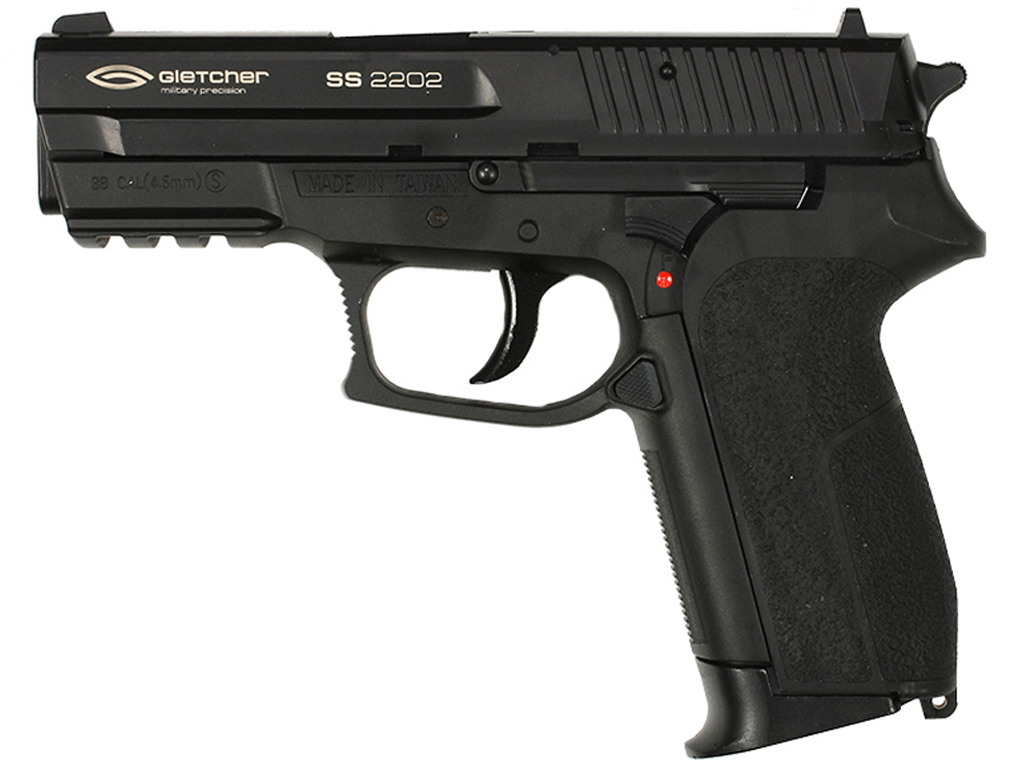 Gletcher SS 2202 CO2 NBB Steel BB Pistol