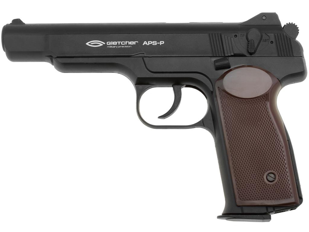 Gletcher APS-P CO2 NBB Steel BB Pistol