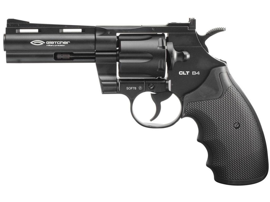 Gletcher CLT B4 CO2 Steel BB Revolver