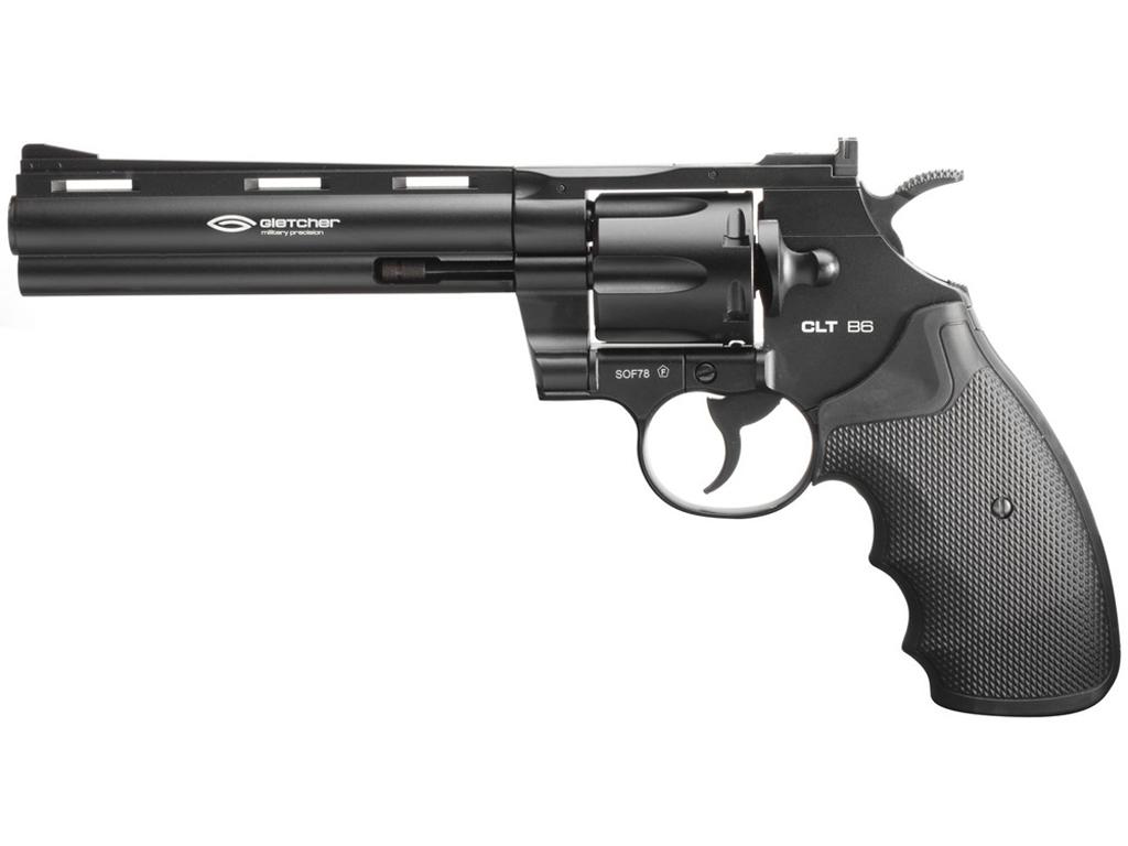 Gletcher CLT B6 CO2 Steel BB Revolver