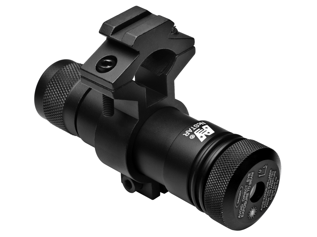 Ncstar Green Laser With Rifle Universal Barrel Mount