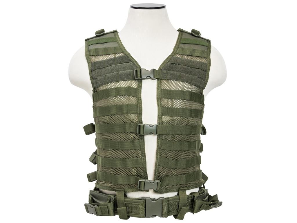 Ncstar Green Molle Pals Vest