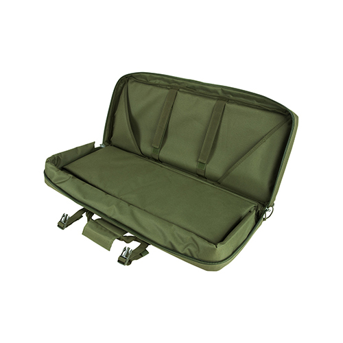 Ncstar28-Inch Deluxe AR/AK Green gun Case