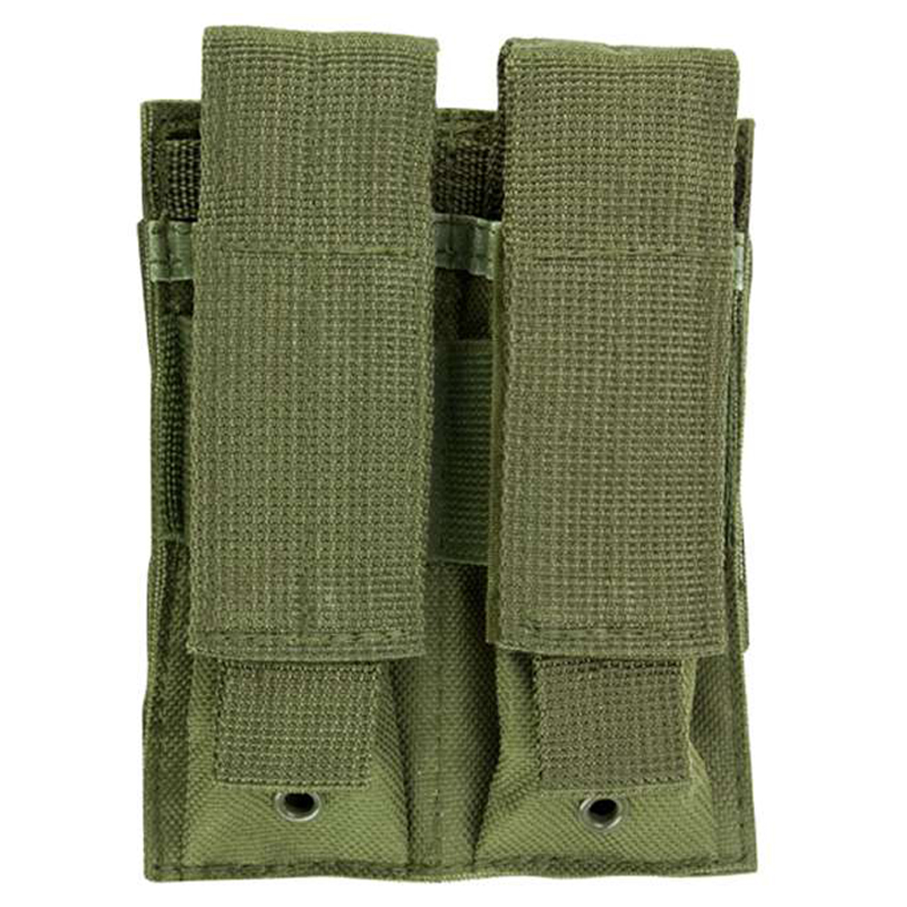 Ncstar Double Pistol Green Mag Pouch