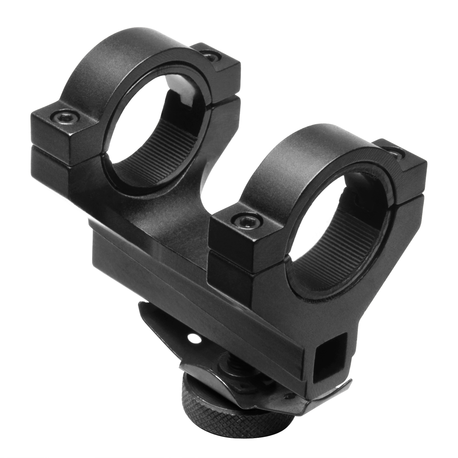 Ncstar AR15 Carry Handle 30Mm Scope Mount With 1 Inch Inserts