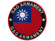 G&G National Embroidered Flag Patch