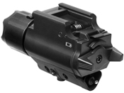 NcStar 200 Lumen LED Flashlight gun Laser Combo