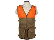 Ncstar Hunting Blaze Orange And Tan Vest