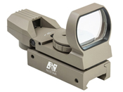 NcSTAR Four Reticle Reflex Sight - Red/Green