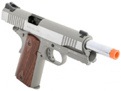 Colt 1911 Rail Gun Stainless Airsoft Pistol